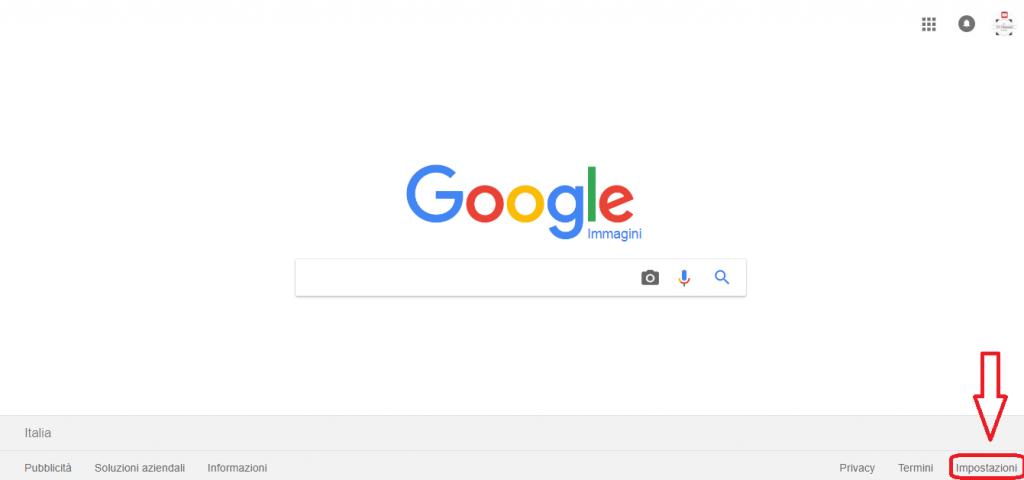 Come trovare immagini senza copyright con google